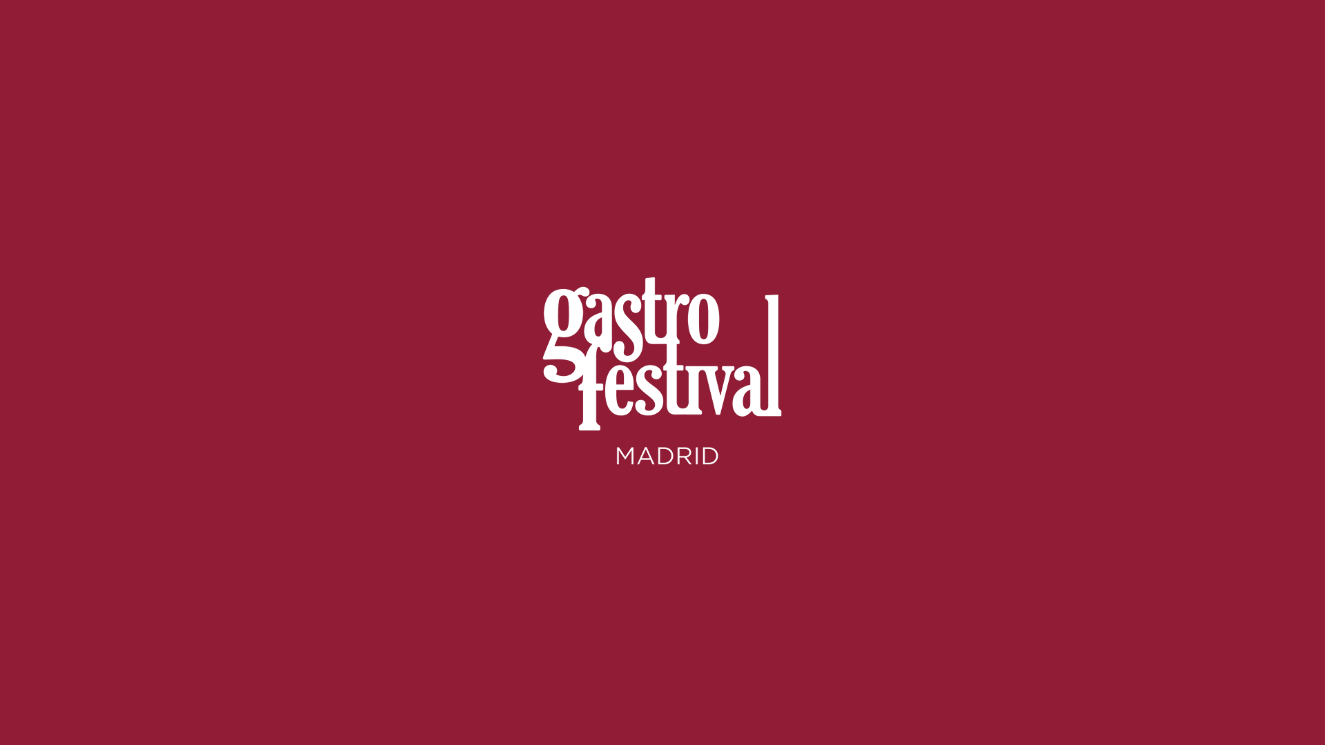 Gastrofestival Madrid