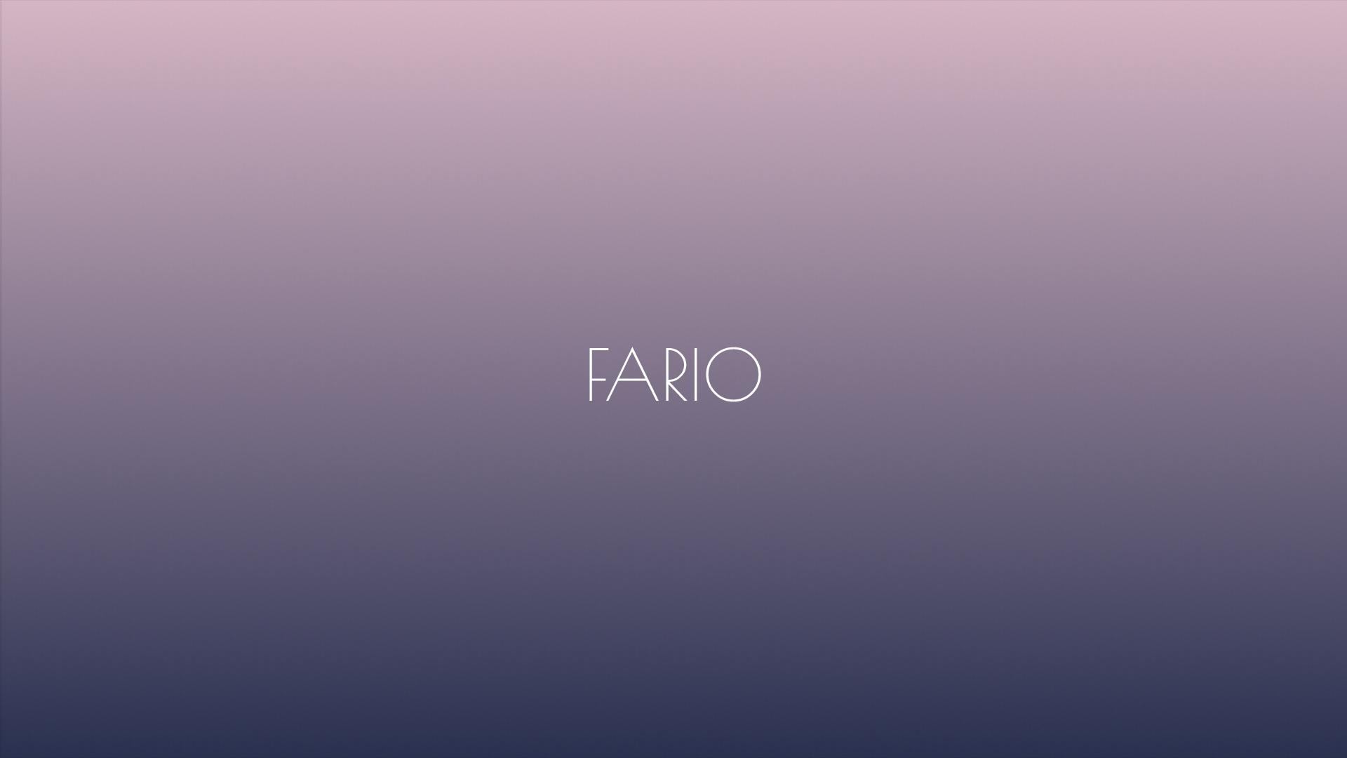 Fario, web hecha por murciegalo en 2018
